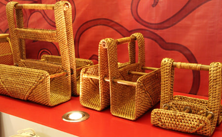 The products made from rattan
