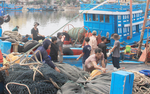 Huyện Tĩnh Gia gắn phát triển thủy sản với bảo vệ môi trường